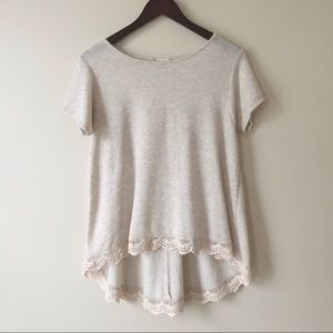 Altar'd State Short Sleeve Sweater Top